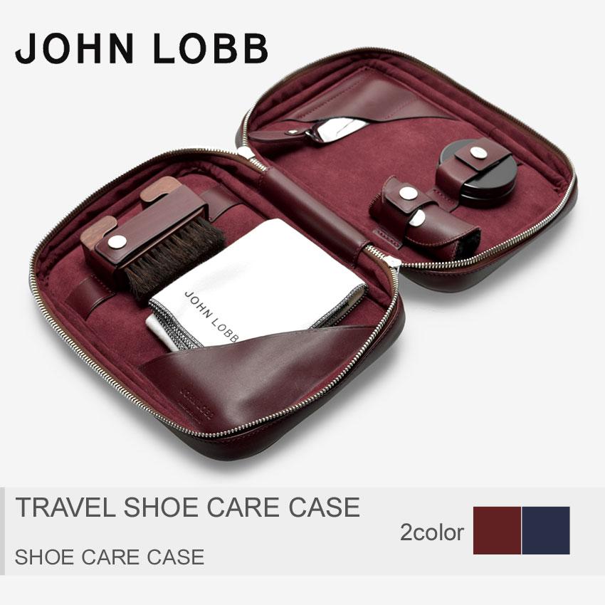 JOHN LOBB ジョンロブ シューケアケース トラベルシューケアケース TRAVEL SHOE CARE CASEXC0109L 1U メンズ
