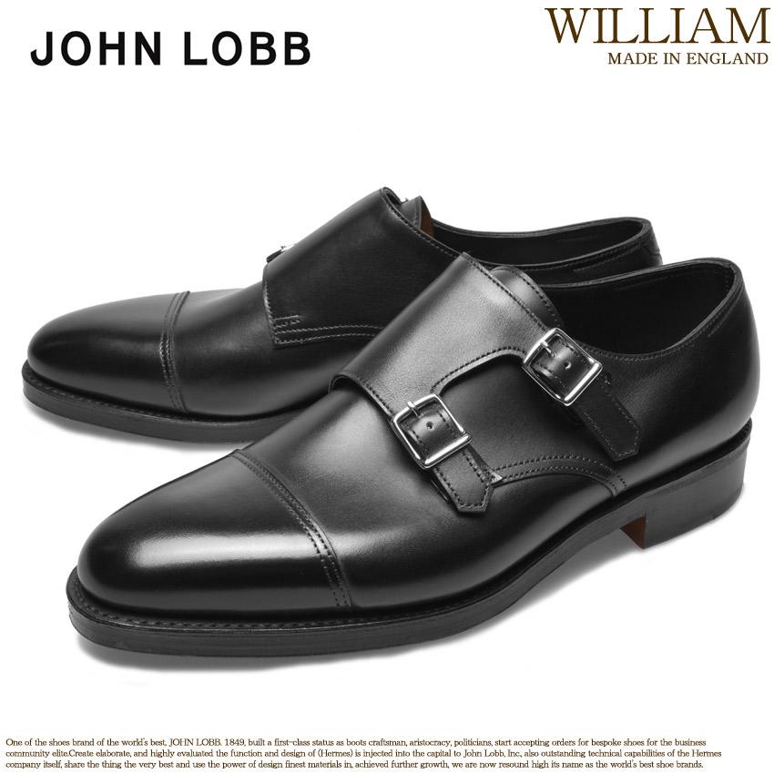 【クーポン配布中】JOHN LOBB ジョンロブ ドレスシューズ ブラック ウィリアム WILLIAM 228192L 1R メンズ ブランド フォーマル カジュアル ビジネス ベルト オフィス スーツ レザー 紳士靴 革 定番 革靴 黒 誕生日 プレゼント ギフト