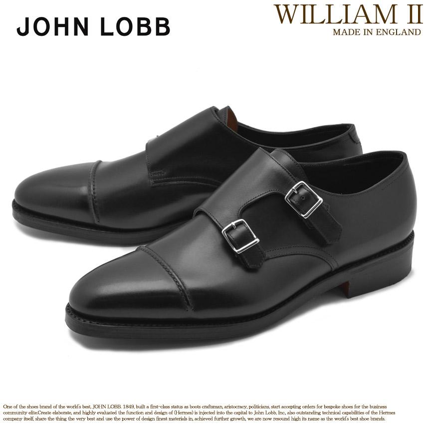【クーポン配布中】JOHN LOBB ジョンロブ ドレスシューズ ブラック ウィリアム 2 WILLIAM II 232032L 1R メンズ ブランド フォーマル カジュアル ビジネス ベルト オフィス スーツ レザー 紳士靴 革 定番 革靴 黒 誕生日 プレゼント ギフト
