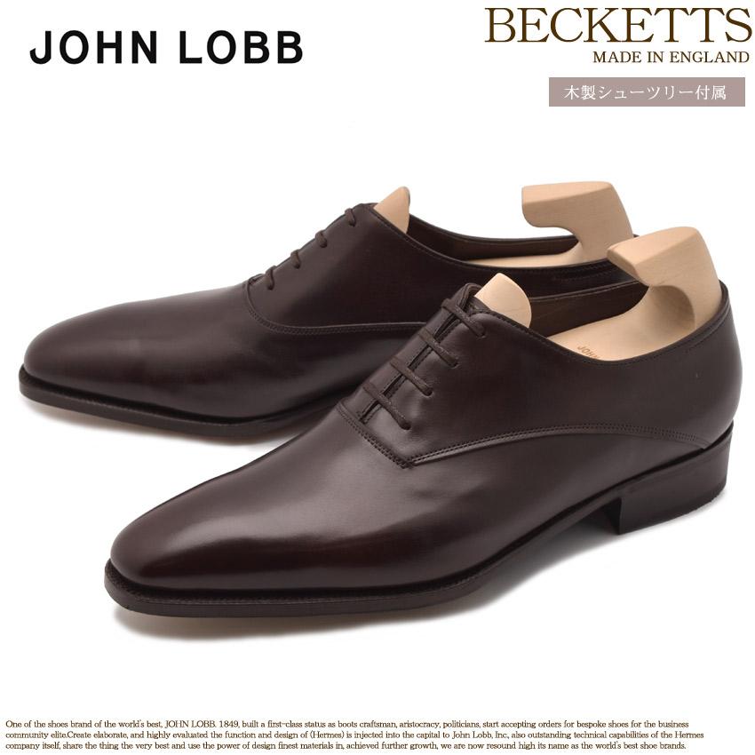 【限定クーポン配布】JOHN LOBB ジョンロブ ドレスシューズ ブラウン ベケッツ BECKETTS 501180L 2Y メンズ ブランド フォーマル カジュアル ビジネス シューレース オフィス スーツ レザー 紳士靴 革 革靴 誕生日 プレゼント ギフト 母の日