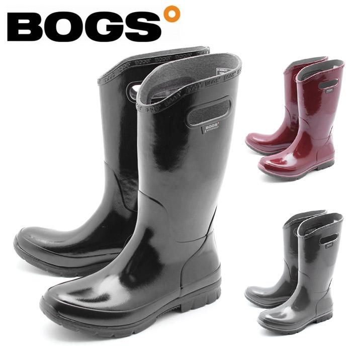ボグス BOGS ブーツ バークレー ソリッド (BERKELEY SOLID 71896 001 601 020) 防水 防滑 保温 ロングブーツ 黒 赤 レディース 女性 誕生日プレゼント 結婚祝い ギフト おしゃれ