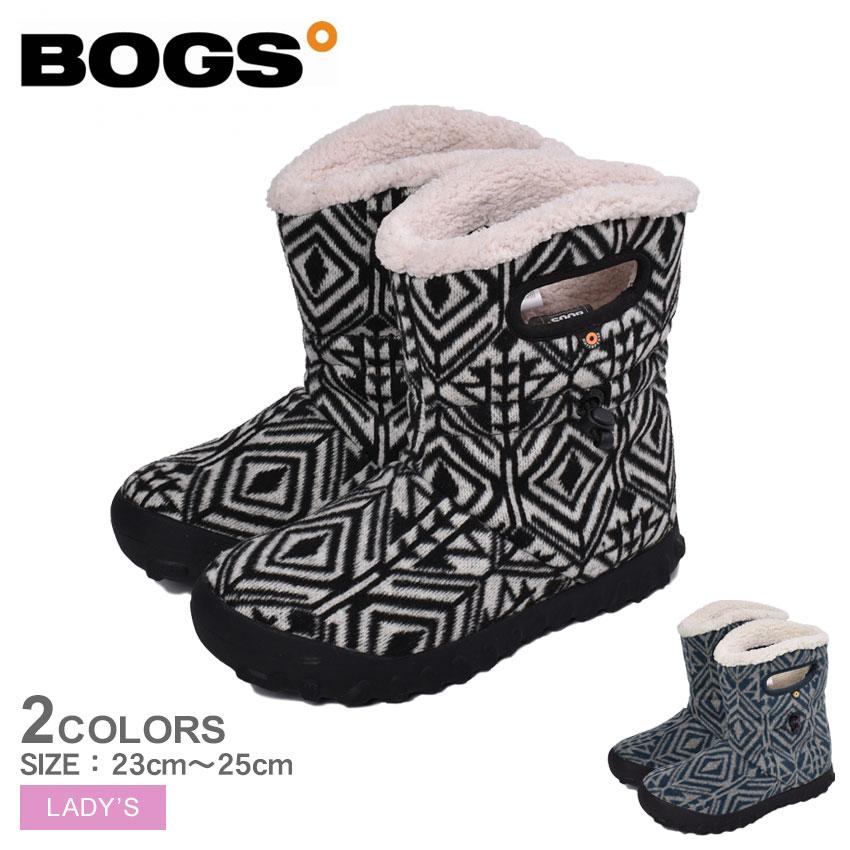 送料無料 ボグス スノーブーツ 訳あり B-MOC ミッドジオ BOGS MID GEO レディース 72555 ダークグレー 灰色 エメラルド 靴 防滑 ハーフ ブーツ ギフト プレゼント 冬靴 保温 税込 もこもこ ミッドブーツ ファー 防水 誕生日 ボア 暖かい