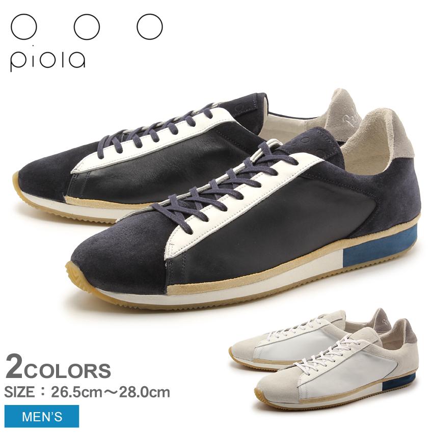 【クーポン配布中】ピオラ×ボビート レザー (BOBBITO×PIOLA POR FIN 6TT1-T-1080 1081) レトロ クラシック ラグジュアリー スニーカー シューズ 靴 メンズ 男性 誕生日プレゼント 結婚祝い ギフト おしゃれ