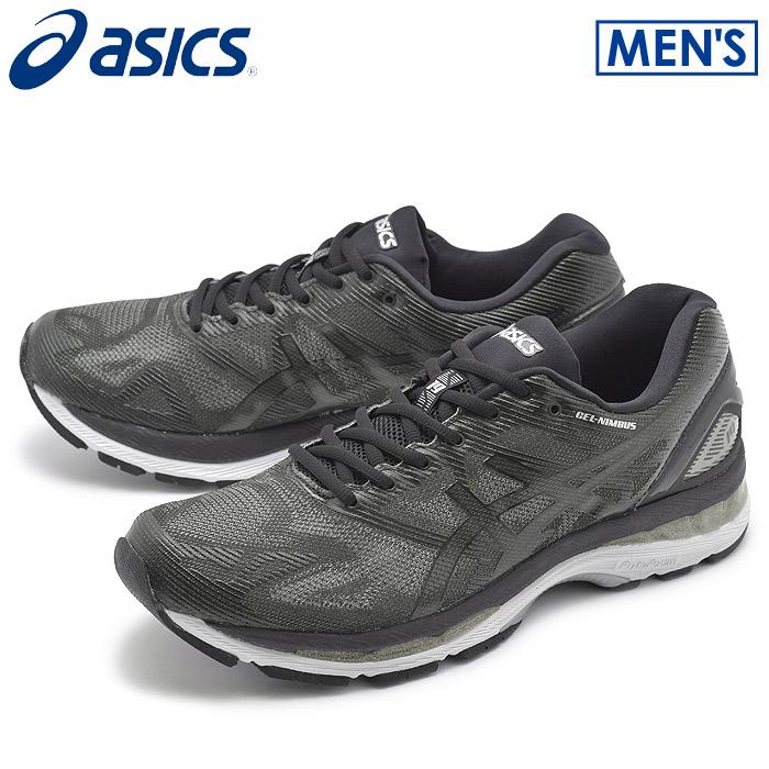 【クーポン配布中】アシックス ゲルニンバス 19 ブラック×オニキス (asics gel-nimbus 19 T700N 9099) 軽量 ジョギング マラソン スニーカー 靴 メンズ 男性 誕生日プレゼント 結婚祝い ギフト おしゃれ