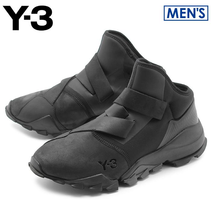 アディダス Y-3 リョウ コアブラック (adidas y-3 yohji yamamoto ryo CG3156) ヨウジヤマモト リョー シンプル モード カジュアル シューズ 靴 黒 メンズ 男性 誕生日プレゼント 結婚祝い ギフト おしゃれ
