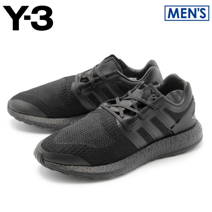 【クーポン配布中】アディダス Y-3 ピュアブースト コアブラック (adidas y-3 yohji yamamoto pure boost CP9890) ヨウジヤマモト モード カジュアル スニーカー 靴 黒 メンズ 男性 誕生日プレゼント 結婚祝い ギフト おしゃれ