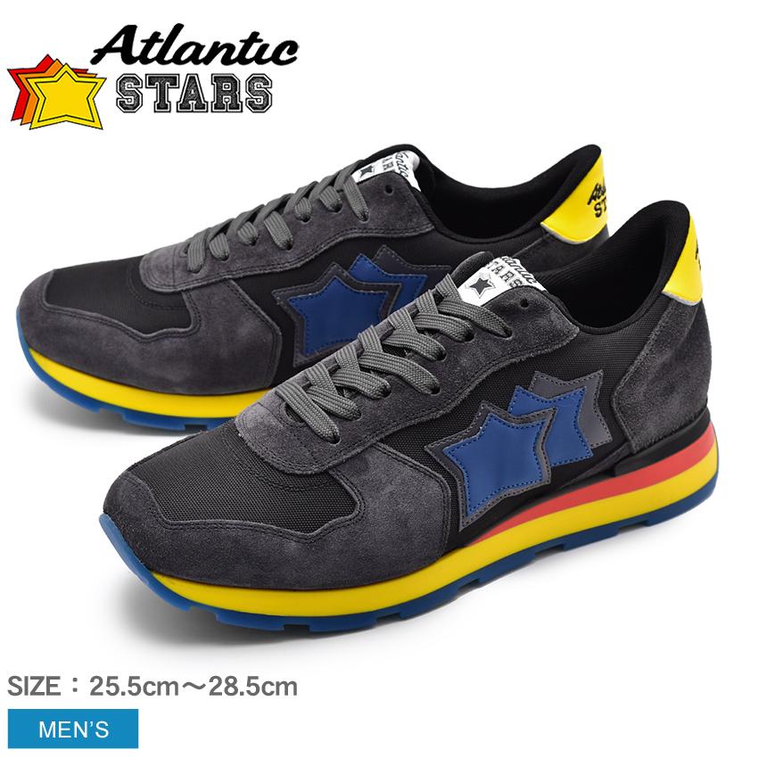 【クーポン配布中】ATLANTIC STARS アトランティックスターズ スニーカー ブラック アンタレス ANTARES ANG-49N メンズ ローカット