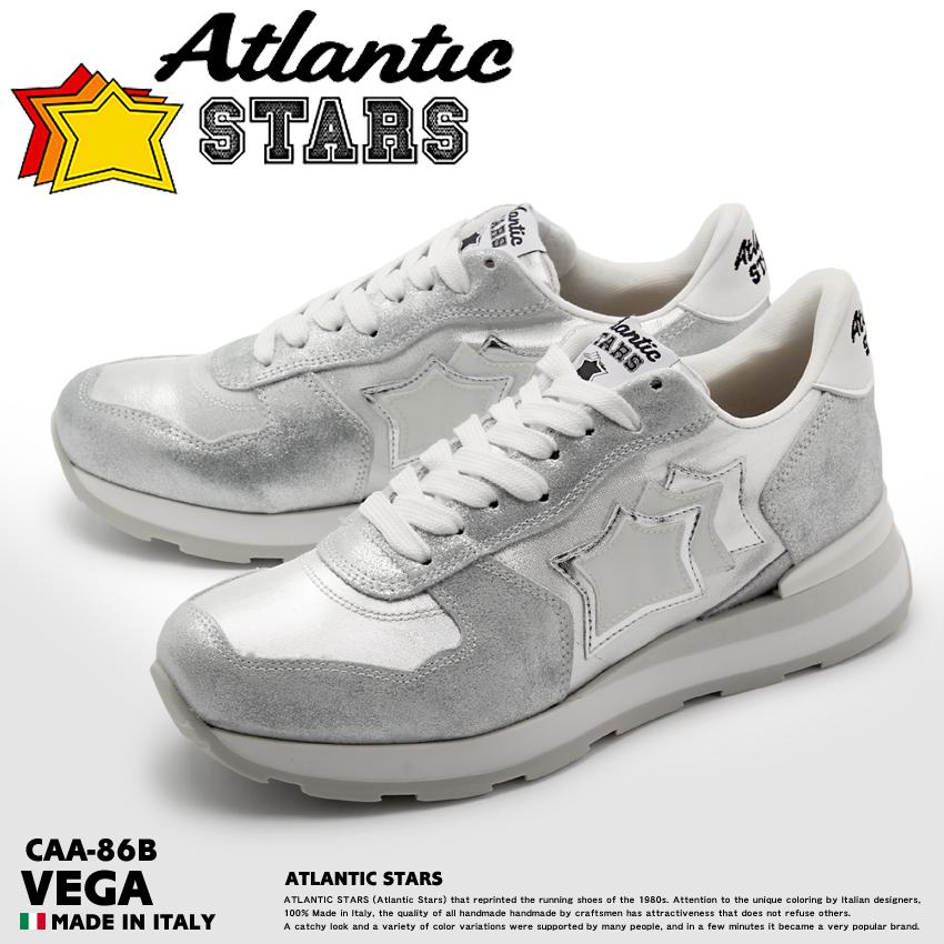 アトランティックスターズ ベガ シルバー (atlantic stars vega CAA-86B) 星柄 レトロ ポップ ストリート シューズ 靴 誕生日プレゼント 結婚祝い ギフト おしゃれ