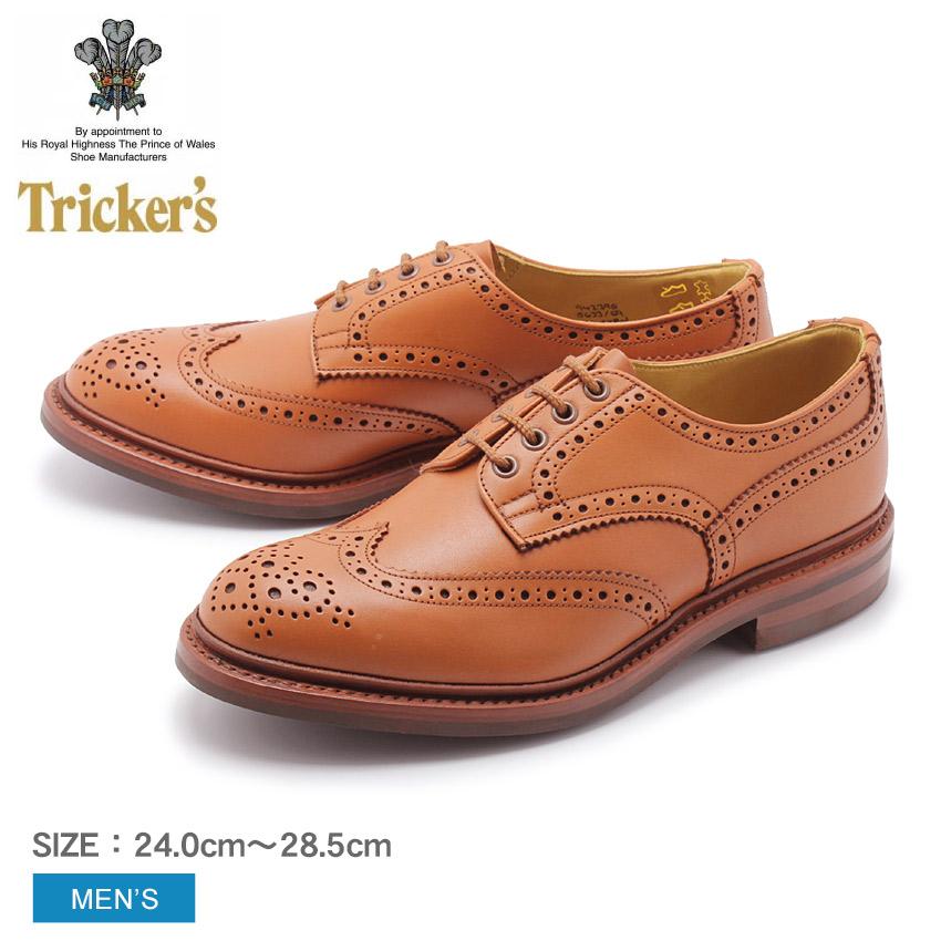 TRICKER'S トリッカーズ カジュアルシューズ ブラウン バートン BOURTON 5633 メンズ 靴 シューズ 紳士靴 短靴 レザーシューズ 革靴 ダイナイトソール レザー 誕生日 プレゼント ギフト