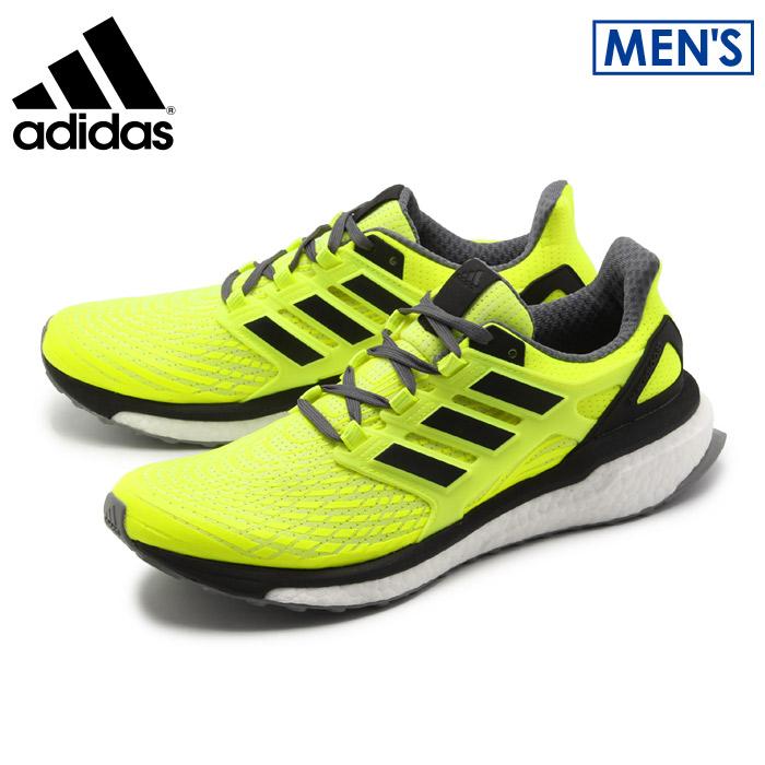 アディダス エナジーブースト 4 イエロー×ブラック (adidas energy boost 4 BB3455) ジョギング マラソン 軽量 ストリート カジュアル スニーカー 靴 誕生日プレゼント 結婚祝い ギフト おしゃれ