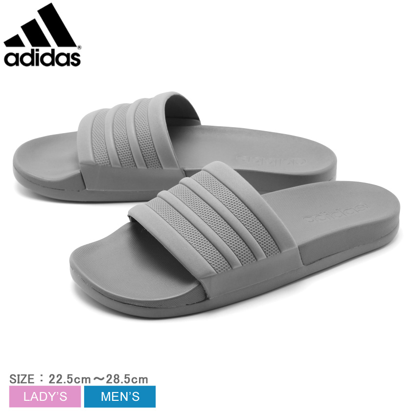 アディダス Mens Adilette CloudFoam Plus MONO Slides メンズ