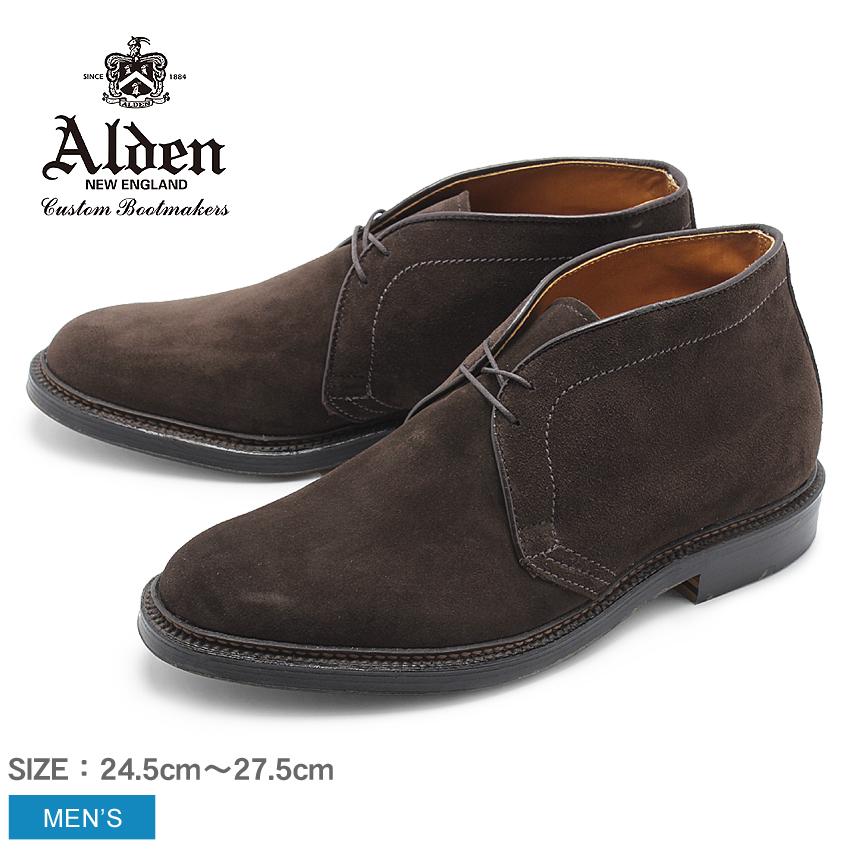 【クーポン配布中】ALDEN オールデン ブーツ ブラウン チャッカーブーツ CHUKKA BOOT メンズ シューズ トラディショナル ビジネス フォーマル スウェ-ド 革靴 紳士靴 茶 誕生日 プレゼント ギフト