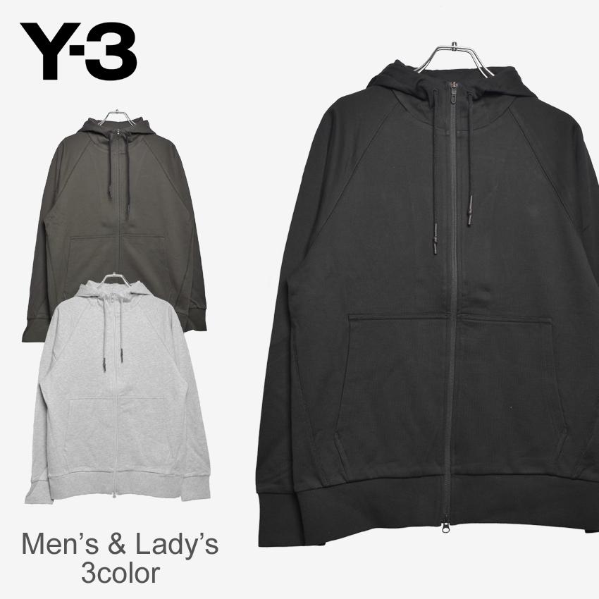 アディダス Y-3 クラシック ジップ フーディー (adidas y-3 yohji yamamoto classic zip hoodie) ヨウジヤマモト スウェット スエット ロゴ トップス モード カジュアル メンズ 男性 内祝い 誕生日プレゼント 結婚祝い ギフト おしゃれ