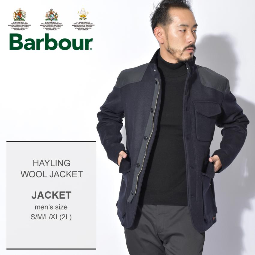 【クーポン配布中】BARBOUR バーブァー ネイビー ヘイリング ウールジャケットジャケット フォーマル シンプル 上品 HAYLING WOOL JACKET MWO0247 ネイビー メンズ 誕生日 プレゼント ギフト