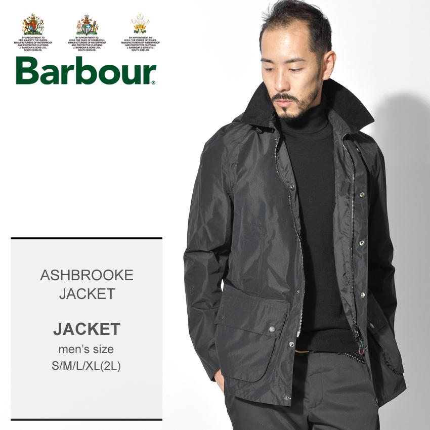 【クーポン配布中】BARBOUR バーブァー ブラック アッシュブルックジャケット アウター 上着 フード ASHBROOKE JACKET MWB0649 ブラック上着 防水 軽量 メンズ 誕生日 プレゼント ギフト