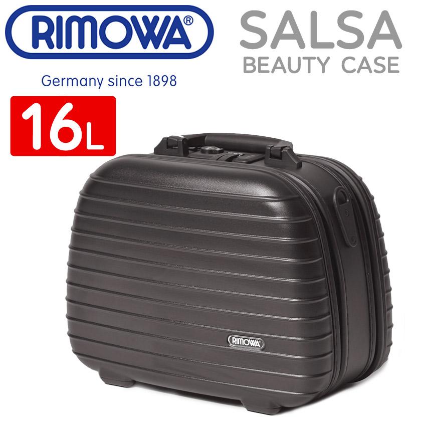 【クーポン配布中】RIMOWA リモワ スーツケース ブラック サルサ ビューティー ケース 16L SALSA BEAUTY CASE 16L 81038320 メンズ レディース キャリーバッグ [大型荷物] 【ラッピング対象外】 母の日