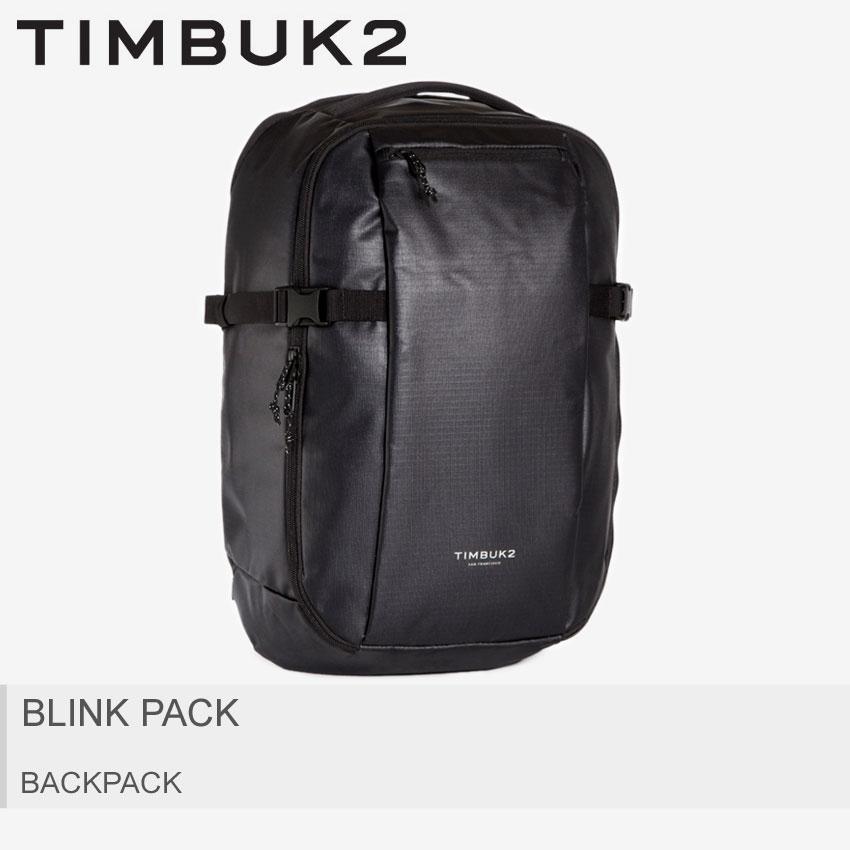 【MAX400円OFFクーポン】TIMBUK2 ティンバックツー バックパック ブラック ブリンクパック BLINK PACK 2542-3-6114 メンズ レディース アウトドア リュックサック リュック バッグ 鞄 かばん 大容量 24L 収納 スポーツ シンプル 旅行 黒