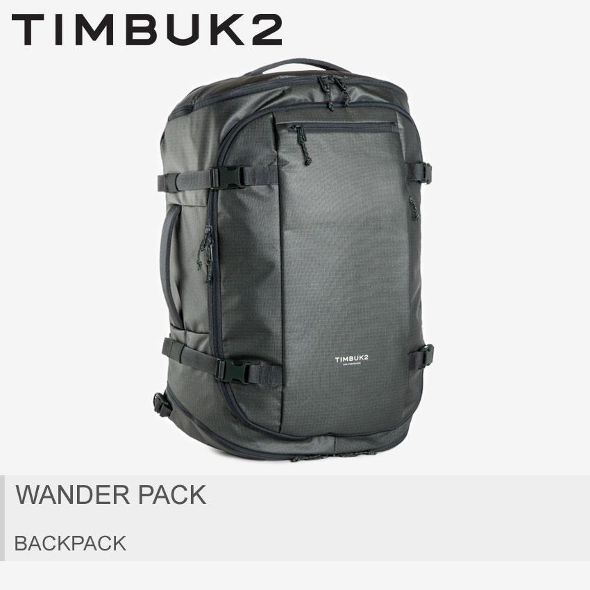 【MAX400円OFFクーポン】TIMBUK2 ティンバックツー バックパック カーキ ワンダーパック WANDER PACK 2580-3-4730 メンズ レディース ウトドア リュックサック リュック バッグ 鞄 かばん 大容量 スポーツ シンプル ダッフルバッグ 2way