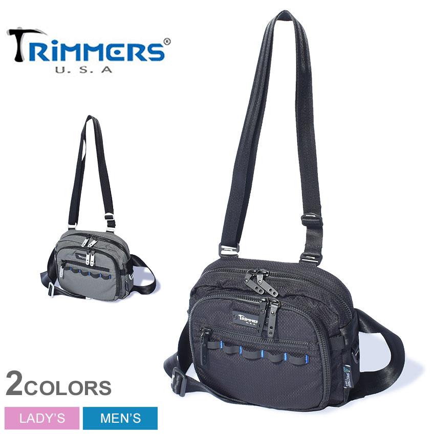 トリマーズ スカイスクレイパー ショルダーバッグ TRIMMERS SKY SCRAPER メンズ レディース 100-TRM-000004 ブラック 黒 グレー 鞄 バッグ ボディバッグ ウエストバッグ 2WAY ブランド カジュアル ミリタリー アウトドア レジャー 旅行 誕生日 プレゼント ギフト