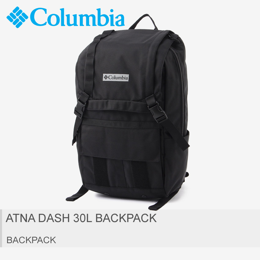 COLUMBIA コロンビア バックパック ブラック アナトダッシュ 30L バックパック ATNA DASH 30L BACKPACK PU8283 010 メンズ レディース ブランド 鞄 かばん バック リュックサック 大容量 スポーティー カジュアル 通勤 通学 部活 アウトドア 黒 バッグ