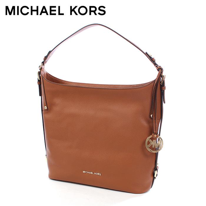 マイケルコース ベッドフォード L ショルダーバッグ ラゲッジ (MICHAEL KORS BEDFORD L SHOULDER 30F5GBFL3L 230) レザー 肩掛け トートタイプ バッグ かばん バック 鞄 カジュアル ビジネス 通勤 レディース 女性