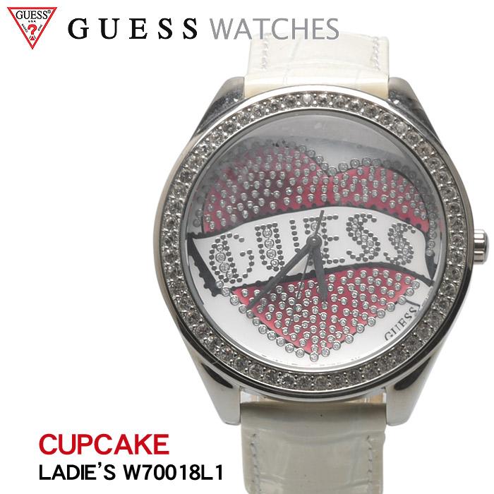 【MAX500円OFFクーポン】ゲス ウォッチ カップケーキ (guess watch cupcake W70018 L1) 腕時計 アナログ クオーツ カジュアル アクセサリー 小物 誕生日プレゼント 結婚祝い ギフト おしゃれ