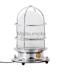 松本船舶照明器具 マリンランプ 2-ST-S (2型スタンドデッキ シルバー) スタンド LED【smtb-TK】【setsuden_led】