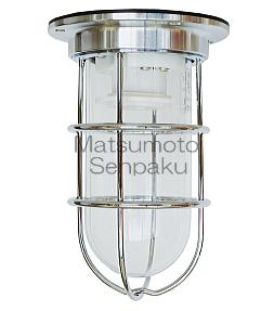 松本船舶照明器具 マリンランプ NW-DK-S (NEWデッキライト シルバー) 屋外灯 その他屋外灯 ランプ別売 白熱灯