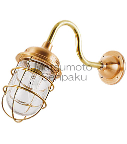 松本船舶照明器具 マリンランプ R2-AQ-G (R2号アクアライト ゴールド) 屋外灯 その他屋外灯 LED