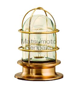 松本船舶照明器具 マリンランプ R2-DK-G (R2号デッキ ゴールド) 屋外灯 その他屋外灯 LED