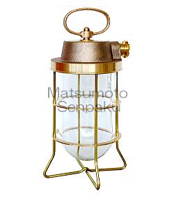 松本船舶照明器具 マリンランプ R2-TS-G (R2号テサゲ ゴールド) 屋外灯 その他屋外灯 LED