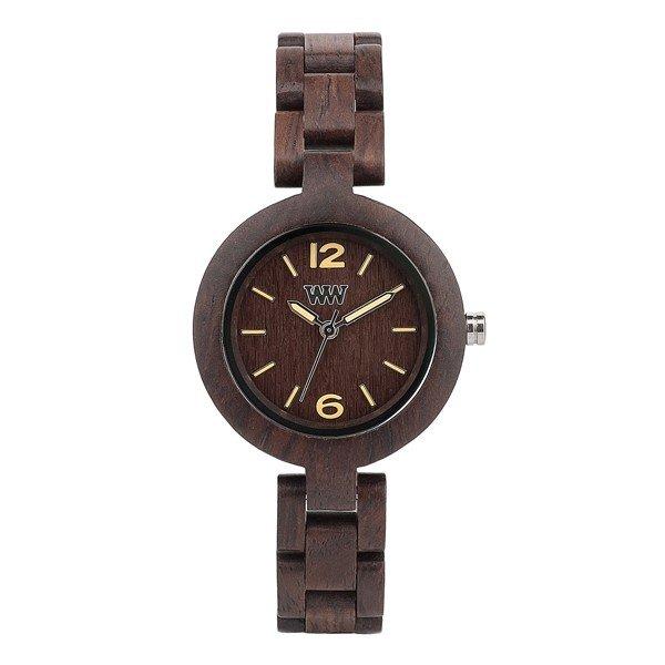 木製 木の時計 ウィーウッド WEWOOD MIMOSA CHOCOLATE 送料無料