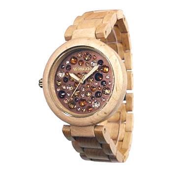 木製 木の時計 ウィーウッド WEWOOD ALNUS BEIGE TOPAZ 送料無料