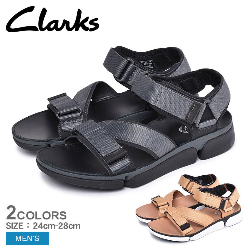 CLARKS クラークス サンダル トライ コーヴ サン メンズ ブラック TRI COVE SUN コンフォート カジュアル スポーツ アウトドア レザー シューズ 靴 26139566 26141049
