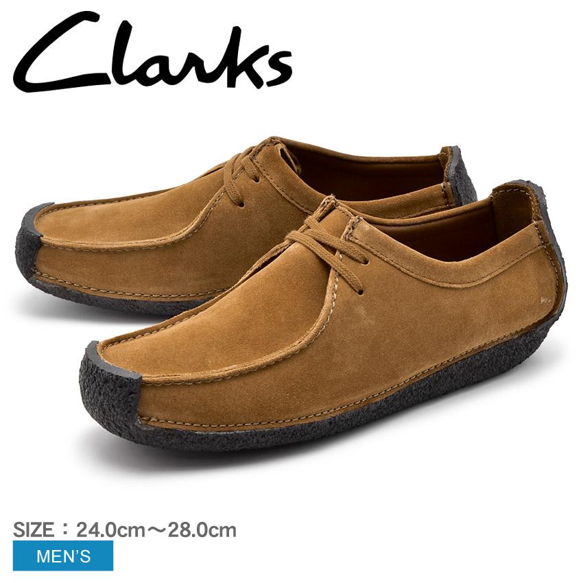 CLARKS クラークス ナタリー カジュアルシューズ メンズ ブラウン NATALIE 26131181