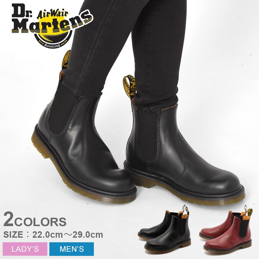 ドクターマーチン サイドゴア ブーツ 直輸入品激安 Dr.Martens 2976 メンズ レディース 靴 シューズ レザー BOOT 割引 R11853600 クーポン利用で550円引き 赤 CHELSEA 黒 R11853001 ブラック レッド チェルシー