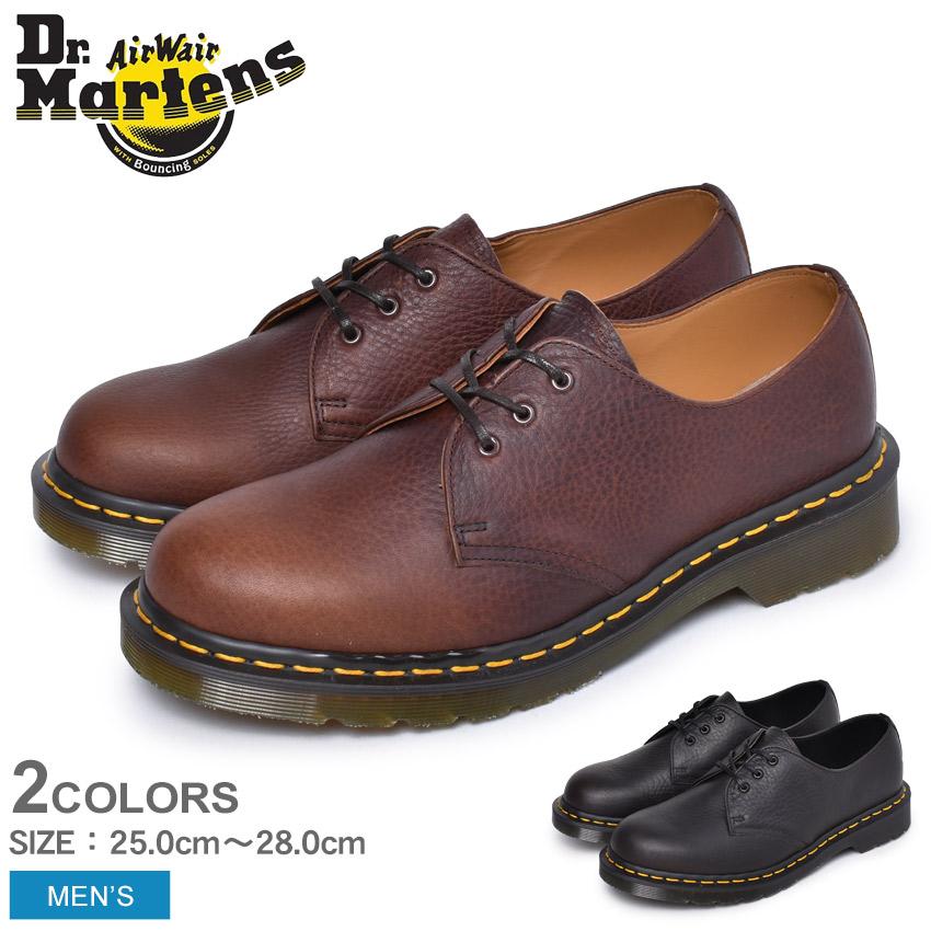 ドクターマーチン 英国製 1461 アバンドン 3ホール シューズ DR.MARTENS 24295001 24296205 メンズ イギリス イングランド 革靴 短靴 フォーマル 紳士靴 レザー ブランド 天然皮革 カジュアル ブラウン 茶色 おしゃれ クラシック レトロ シボ加工