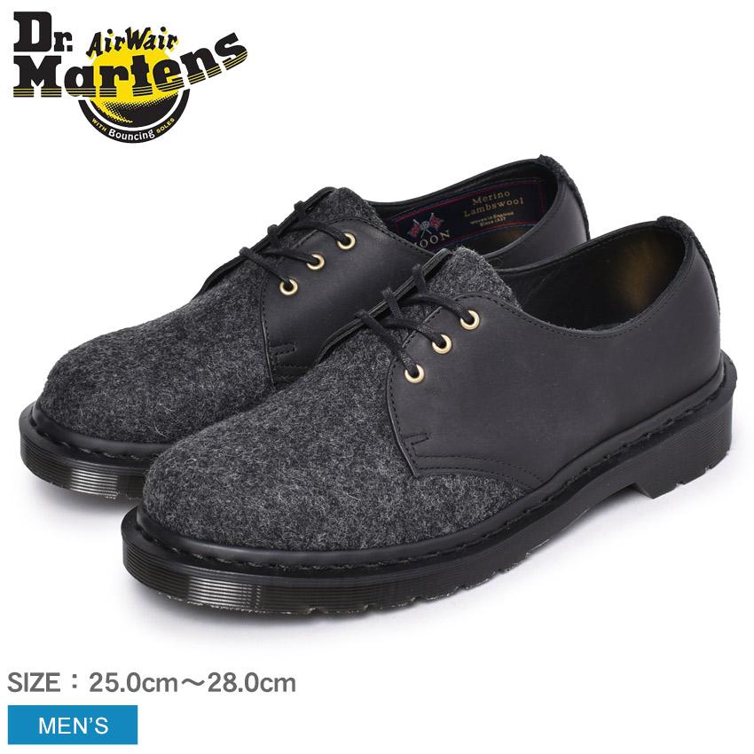 DR.MARTENS ドクターマーチン 英国 イギリス製 3ホール シューズ 1461 MIE 3EYE SHOE 25275080 メンズ 紳士靴 革靴 フォーマル レザー ブランド 天然皮革 革 本革 おしゃれ メルトンウール フルグレインレザー
