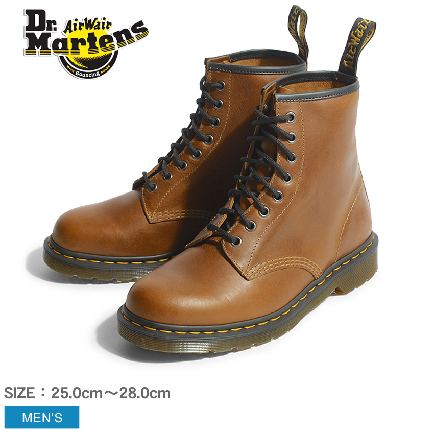 送料無料 ドクターマーチン ブーツ Dr.Martens 1460 8ホール ブーツ ビタースコッチ22828243 1460 8EYE BOOTS BITTER SCOTCH靴 シューズ レースアップ オーリアンズレザー メンズ