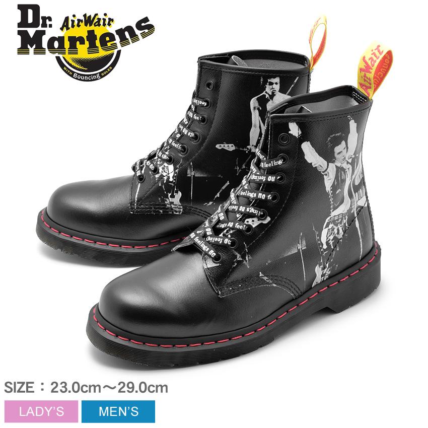 DR.MARTENS ブーツ 1460 8ホールブーツ セックス・ピストルズ 1460 8EYE BOOTS SEX PISTOLS R24789001 メンズ レディース 靴 シューズ ブーツ 革靴 本革 レザー ブランド カジュアル レースアップ 黒 セックスピストルズ パンク コラボ