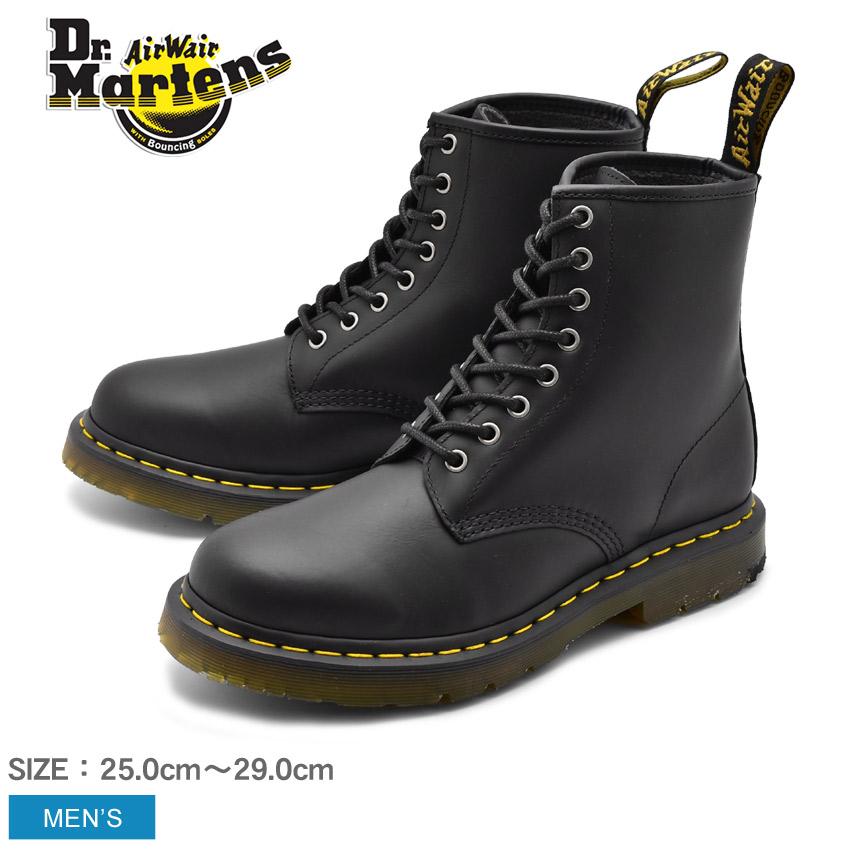 送料無料 DR.MARTENS ドクターマーチン ブーツ ブラック 1460 8 EYE BOOT 1460 8ホール ブーツ R24039001 メンズ 防水 防滑 滑らない 防汚 汚れにくい カジュアル ウィンターブーツ 冬