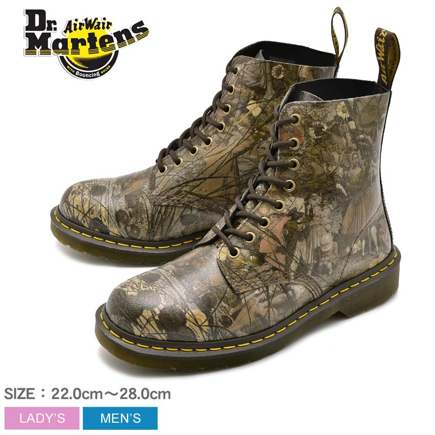 送料無料 DR.MARTENS ドクターマーチン ブーツ ブラウン1460 パスカル 8ホール ブーツ 1460 PASCAL 8EYE BOOT24190102 メンズ レディース