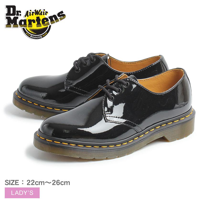ドクターマーチン DR.MARTENS シューズ ブラック 黒 1461 パテントレザー 3ホールブーツ 10084001 レディース 靴 シューズ レザーシューズ カジュアル おしゃれ かわいい ブランド エナメル