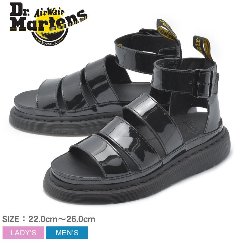 DR.MARTENS ドクターマーチン サンダル ブラック クラリッサ 2 CLARISSA II 24822001 メンズ レディース 靴 シューズ 革靴 本革 レザー ブランド カジュアル 定番 サンダル 黒
