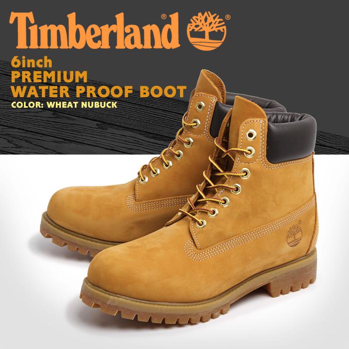 送料無料 ティンバーランド ブーツ インチプレミアムブーツ ウィートヌバック (TIMBERLAND 10061 6inch PREMIUM WATER PROOF BOOT) メンズ(男性用) アウトドア メンズ 靴