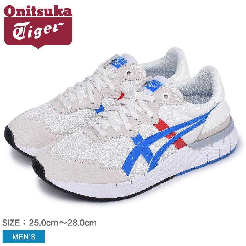 オニツカタイガー スニーカー メンズ レビラック ランナー ONITSUKA TIGER REBILAC RUNNER 1183A396 靴 シューズ 通勤 通学 ローカット カジュアル シンプル おしゃれ ホワイト 白