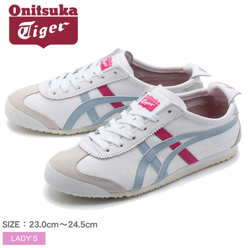 best service f5d78 73cbc Onitsuka tiger ONITSUKA TIGER sneakers white Mexico 66 MEXICO66 HL474  Lady's shoes shoes sneakers sports shoes casual exercise commuting  attending ...