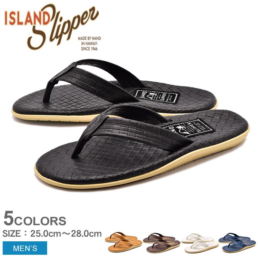 送料無料 ISLAND SLIPPER アイランドスリッパ サンダル 全5色イタリアン ウィーブ ITALIAN WEAVEPT202SAS メンズ