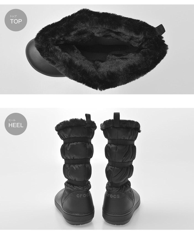 CROCS クロックス ブーツ ブラッククロックバンド ウィンター ブーツ CROCBAND WINTER BOOTS205314 060 レディース