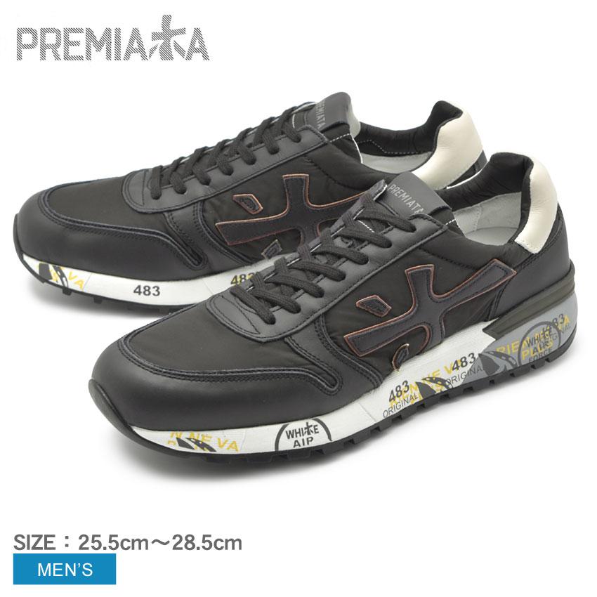 送料無料 PREMIATA プレミアータ スニーカー ブラック ミック 3251 MICK 3251 VAR3251 メンズ